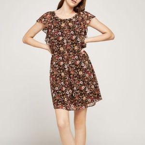 NWT BCBGeneration Great Outdoors Ruffle Dress
